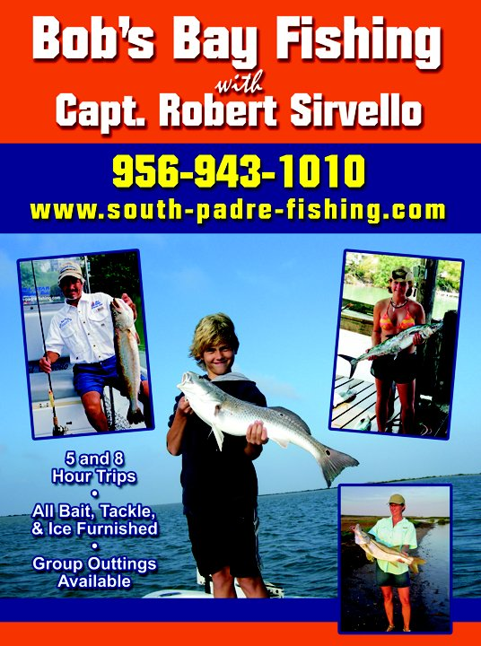Capt bob 39 s bay fishing south padre island saltwater fishing for Capt bob fishing